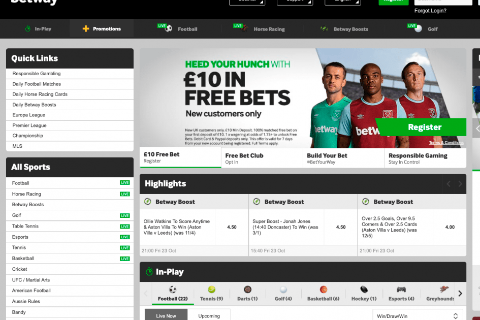 What Are The Major Banking Options Available on Betway?